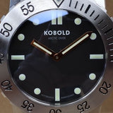 Kobold Arctic Diver Heritage Prototype Case No.1  025 Cal. K-2651 Box and Papers - HallandLaddco.com