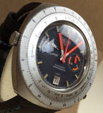 1970's Vintage Heuer Calculator Chronograph - HallandLaddco.com