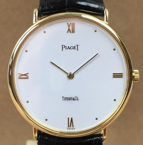Retro Piaget Tiffany &Co. 18k Sold Gold - HallandLaddco.com