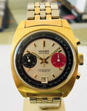 Vintage 1960's Gruen Precision Chronograph 17 Jewels Valjoux 7734 Model# 770CA Men's Watch