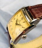 Vintage 1950's Eterna Matic Automatic Tank Watch