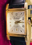 Vintage Bulova Excellency Academy Award 10K Gold Filled 7ak Movement Watch