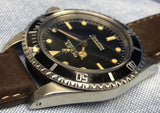 Vintage 1986 Rolex Submariner 5513 with Patina cal. 1520 40mm Wristwatch