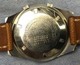 Vintage 1970's Citizen Seven Star Automatic 21 Jewels Super Compressor Watch