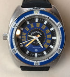 Vintage 1970's Aquadive Time-Depth Depth Gauge Wristwatch