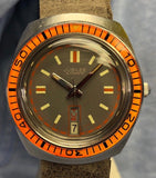 Vintage Jubilee Men's Watch Japan Automatic 17 Jewels with Date Display and 20mm Band
