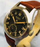 Vintage Buren Grand Prix W.W.W Dirty Dozen Military Watch - HallandLaddco.com