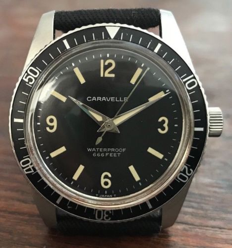 Caravelle 666 ft Diver, 11DP model, from 1960s - HallandLaddco.com