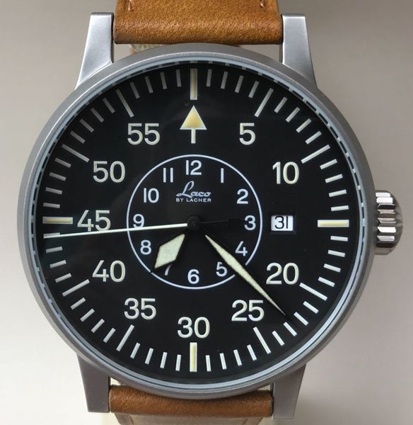 Laco by Lacher Military Wristwatch - HallandLaddco.com