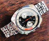Longines Valjoux 72 Chronograph from 1969 - HallandLaddco.com