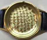 Movado Automatic 28 jewels 18K solid Gold Case from 1950's - HallandLaddco.com