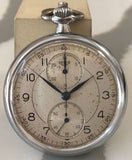 Heuer chronograph pocket watch from 1940's - HallandLaddco.com