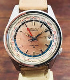 Seiko 6117-6019 World Time from 1960's - HallandLaddco.com