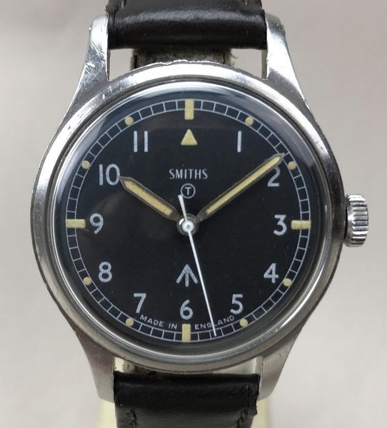 Vintage Smiths Military Broad Arrow RAF Wristwatch - HallandLaddco.com