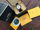 Breitling Superocean Diver with Box & Papers - HallandLaddco.com