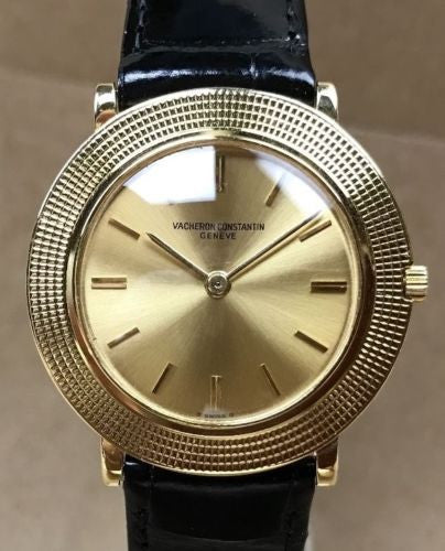 Circa 1960 Vacheron Constantin with 18k Solid Gold Case - HallandLaddco.com