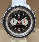 1970's Breitling Navitimer Chrono-Matic Men's Wristwatch - HallandLaddco.com
