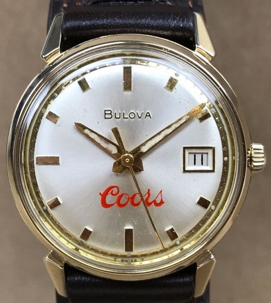 Vintage Bulova Coors One Million Cases 1970 - HallandLaddco.com