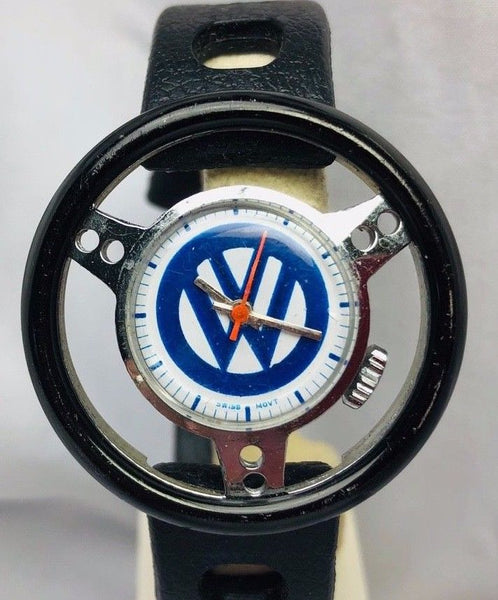 Volkswagen Accessories Vintage NASA Anniversary Steering Wheel Watch