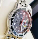 Zenith rainbow flyback chronograph from 1999 - HallandLaddco.com