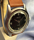 Baltic HMS 001 Automatic Japanese Movement Brown Leather Strap 38mm Watch