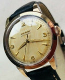 1950s movado automatic vintage gold wristwatch