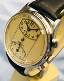 Gallet MultiChron Regulator 1st Series Chronograph Circa 1930 - HallandLaddco.com