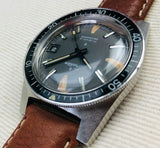 Vintage 1970s sears tradition 17 jewels  automatic diver watch