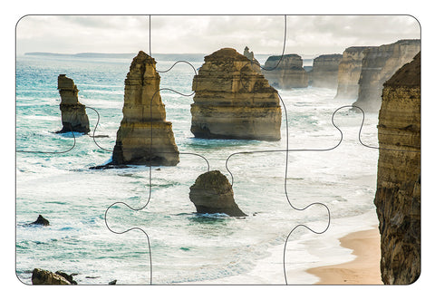 JIGSAW COASTERS 12 Apostles 6pc