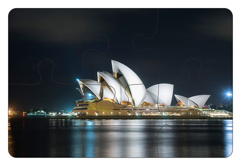 JIGSAW COASTERS Sydney Opera House 6pc