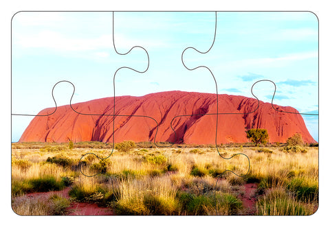 JIGSAW COASTERS Uluru 6pc