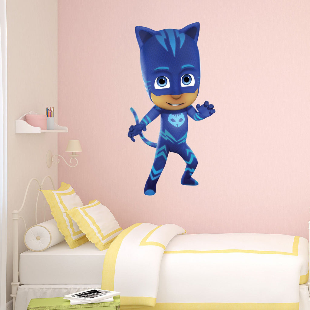 PJ Masks Catboy Gecko Owlette Kids Boy Girls Bedroom Vinyl Decal Sticker  Gift