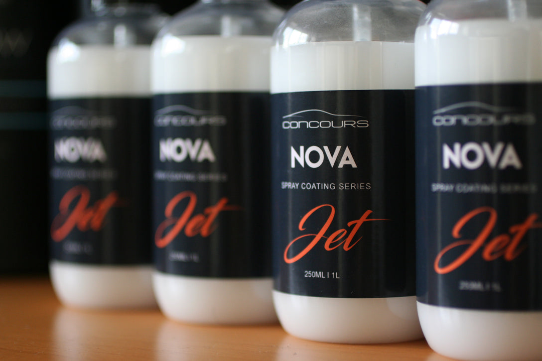 Nova Jet - Ultra Hydrophobic Spray Coat
