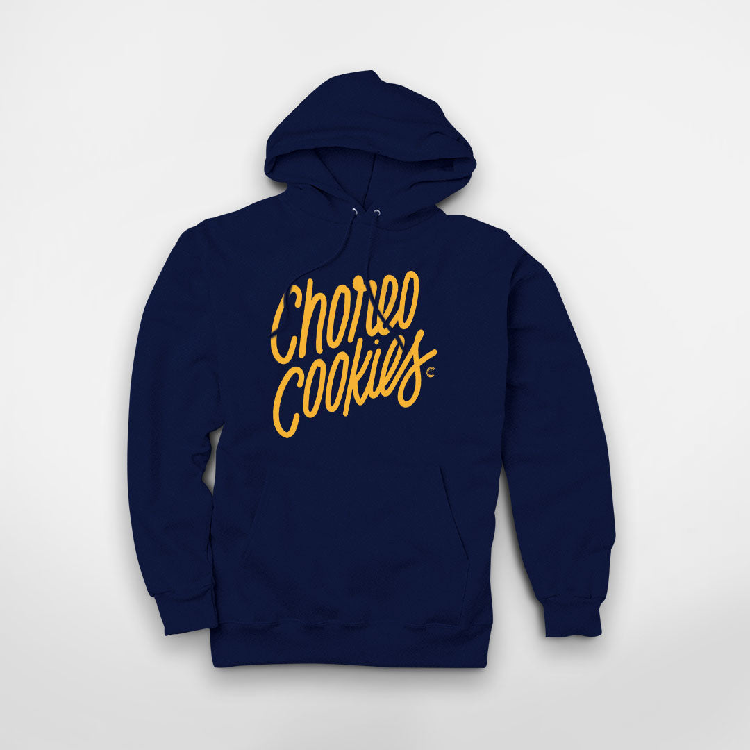 Cookies Calligraphy Hooded Fleece