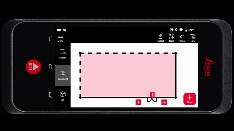 How to Sketch Floor Plans with the Leica BLK3D Handheld Imager
