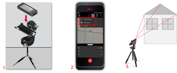 How to Laser Measure with a Leica BLK3D