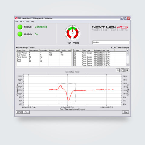 ESP PCS Diagnostic Software