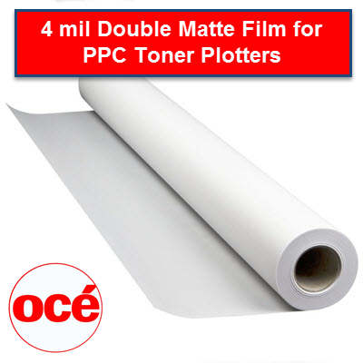 Oce 4 mil Engineering double matte film PPC - 44542