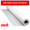 Oce 20# Inkjet Bond - Check Plot - 2 inch core - 8650000033 - TAVCO