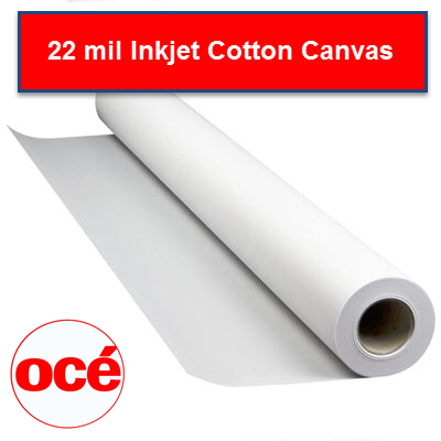 22 mil Cotton Canvas Aqueous Inkjet Media - ARTCN - ARTCN2450 - TAVCO