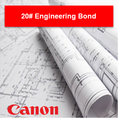 Canon 20# Engineering - 45111 Plotter Paper - 4511100001 - TAVCO