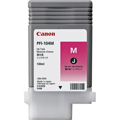 Canon PFI-104 Inks for iPF Printers (130ml)