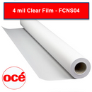 Oce FCNS04 4 mil Clear Film - FCNS04