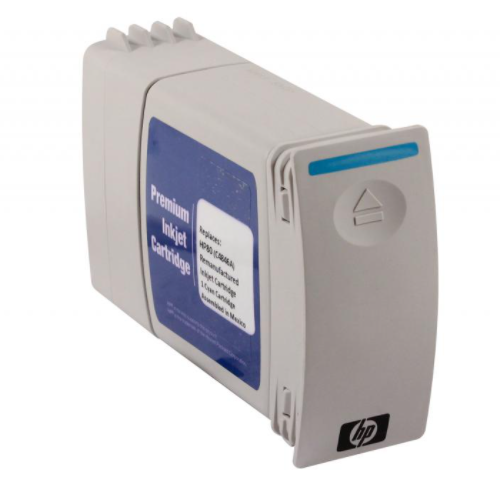Remanufactured Wide Format Ink Cartridge for HP80