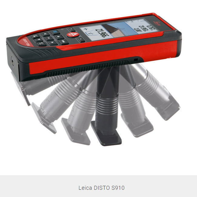 Leica DISTO S910 Handheld Laser Distance Measure Tool