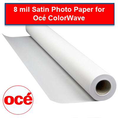 Oce 8 mil Satin photo paper - PHPPR