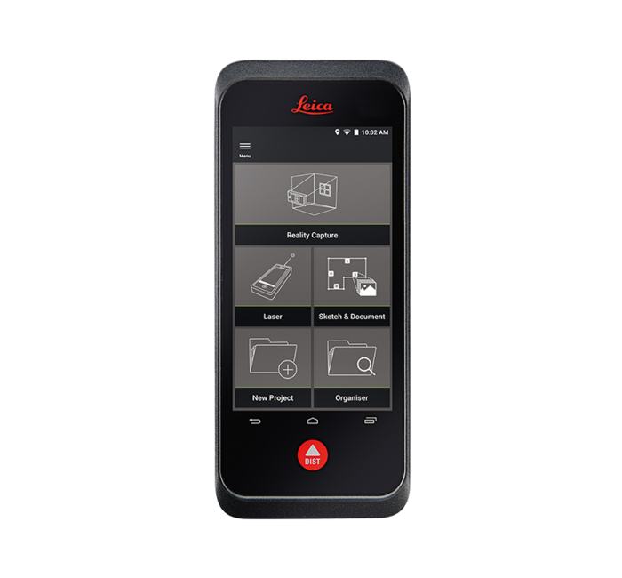 Leica BLK3D Mobile Publisher Software