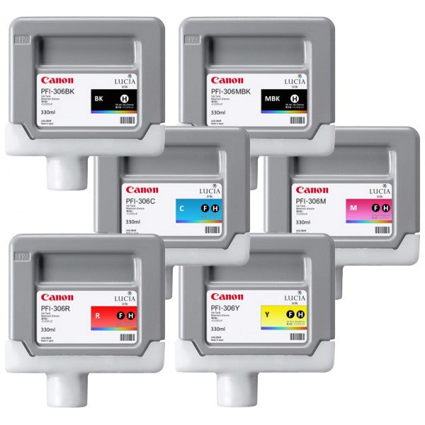 Canon PFI-706 Inks for iPF Printers (700ml)