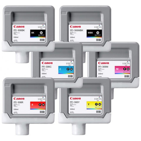 Canon PFI-306 Inks for iPF Printers (300ml)