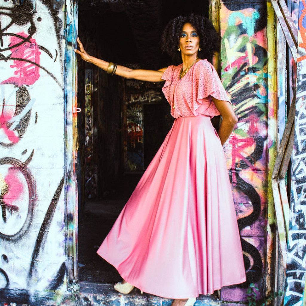 Disco Diva Maxi Dress for Not Your Mama's Vintage by Create.Restore